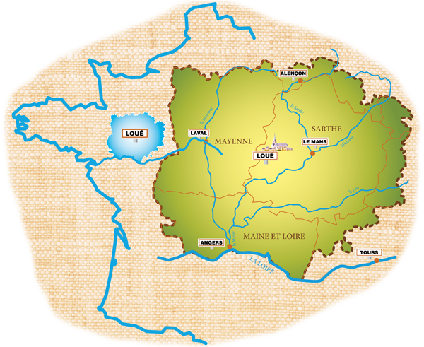 Le pays de Loué