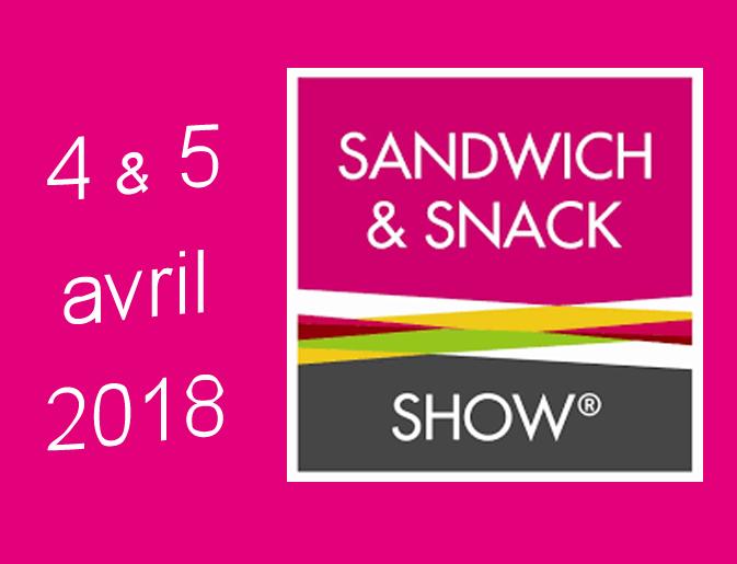 salon sandwich snack show 2018 ldc restauration