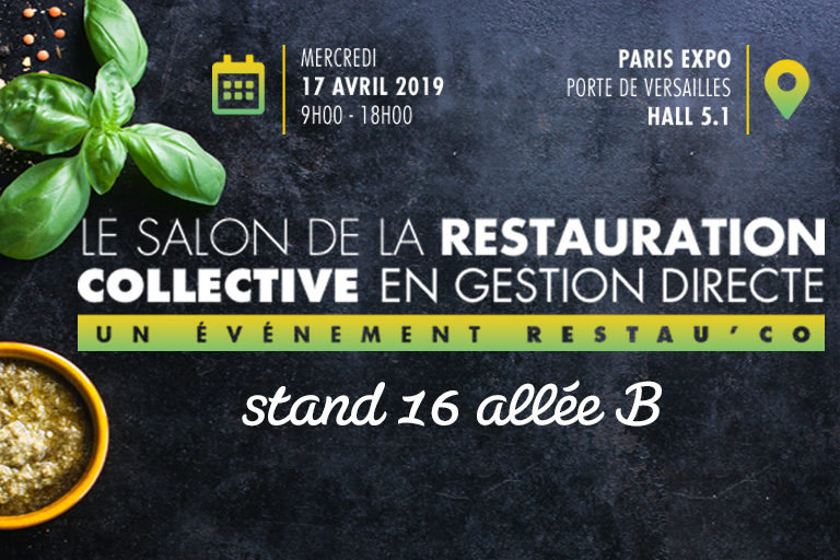 Actu salon Restau Collective LDC